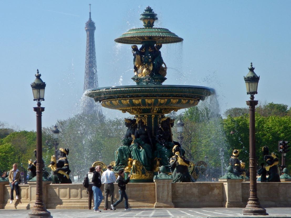 Fontaine de la place de la Concorde, Paris